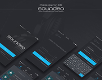 Soundeo App – Interactive design & prototyping