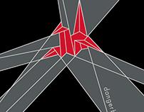 T-shirt concepts for Dangerbird Records.