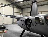 Graphics wraps for DeGould Helicopters / UK