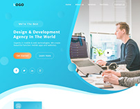 Software agency website