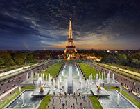 Day to Night Photography by Stephen Wilkes