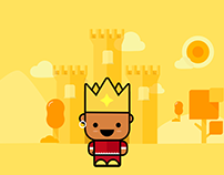 Ilustração - The black king