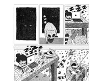 Raccoon Comic