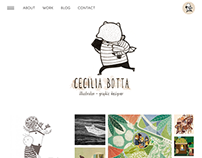 my new WebSite - ceciliabotta.it