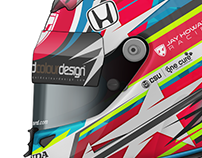 Jay Howard - Indy500 2018 Helmet Design