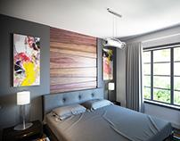 Calgary Infill Interior - Small Bedrooms