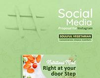 Social Media : Soulful Vegetarian