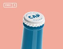 Bottle Cap Mockup