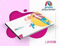 Identidade Visual - Grupo Playcenter