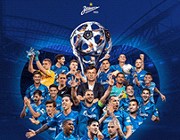 Key visualfor FC «Zenit»