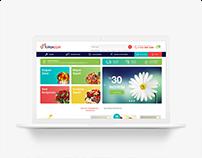 Türkiye Çiçek Web Tasarımı