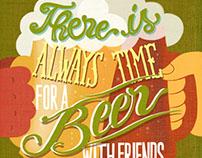 'Beer Lovers' 2017 calendar