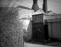 Old potteries of Stoke on Trent
