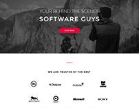 Minimalist Design For A Software Development Company
