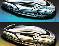 Automotive Sketching Part 3
