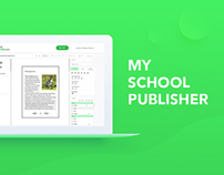 My School Publisher: SaaS educational platform