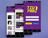 Tiupar - Entertainment App Brand
