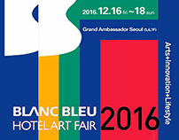 BlancBleu Hotel Art Fair 2016