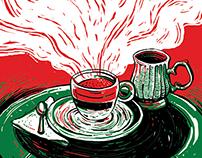 Revista CAFETERO - Ilustraciones Imprenta