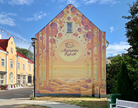 """Mural """"Sweet dream"""""""