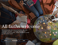 A new web look for a revolutionary seminary — Moravian