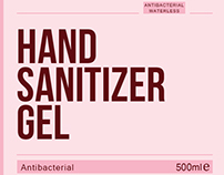 Hand Sanitizer Gel Design for Precious Moments Inc.
