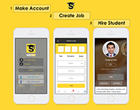 SMOJO - Mobile freelancing app for students in UK