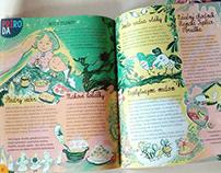 "Slovak children's magazine ""SLNIEČKO"" december"