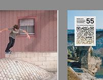 UNO skate magazine redesign