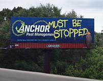 Anchor Pest Management Billboard