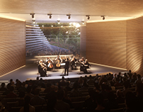 Concert Hall in the Mountains of Troodos