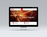 Technology Research Company Landing Page