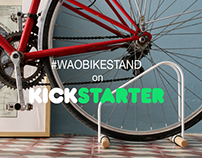 WAO Bike Stand on kickstarter!