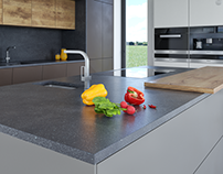 MatPak for MODO - kitchen worktop
