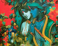 Housethome Radha Krishna Curated Collection