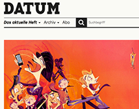 Datum Magazine- editorial illustration