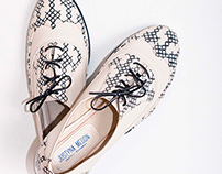 patterned shoes collection