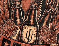 T-shirt Cervejaria Sertões - BA