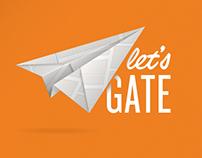Ideia | App Let's Gate - CI Intercâmbios