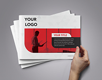 Business man and corporate Brochure Template