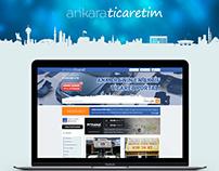 Ankaraticaretim - Compant Introduction Website