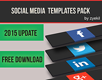 Complete Social Media Template pack (2015 update)