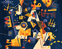 Packaging: CalArts Jazz 26th Annual Album