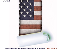 4th July / Independence Day Flyer Template