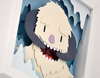 Star Wars Monsters Papercuts