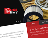 Clean Filters - Website