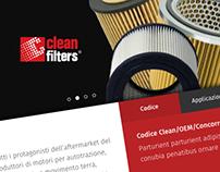 Clean Filters - Website