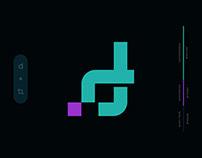 D+Crop Tool Logo Concept