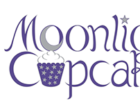 Moonlight Cupcakes Logo Design