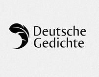 Deutsche Gedichte - Logo